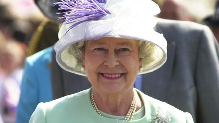 The Queen at Ipswich Waterfront in 2002, during her golden jubilee visit Picture: Jamie Niblock
