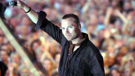 Ronan Keating at Newmarket Nights in 2005 Picture: MICHAEL HALL