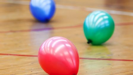 Who can resist playing a bit of balloon tennis? Picture: GETTY IMAGES/ISTOCKPHOTO