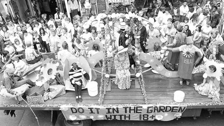 The carnival often follows a common theme with the 1983 carnival being centered around flowers and g