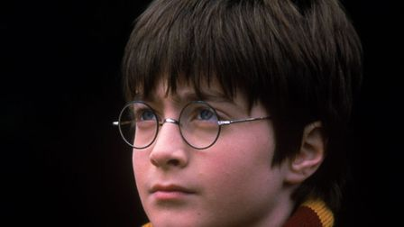 Daniel Radcliffe, who plays the part of Harry Potter, is shown in a scene from Harry Potter and the