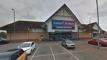 Currys PC World Carphone Warehouse at the Interchange Retail Park at Copdock in Ipswich Picture: GO