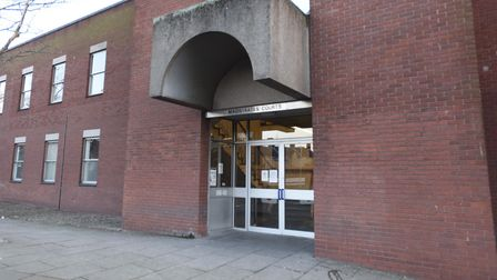 front of ipswich magistrates court