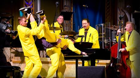 The Jive Aces will be issuing a performance online everyday and can be accessed via the Ipswich Jazz