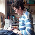 People have volunteered to sew, cut patterns and drive to fetch materials