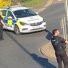 A picture taken near Bourne Park of the police incident Picture: ANDY SCOTT