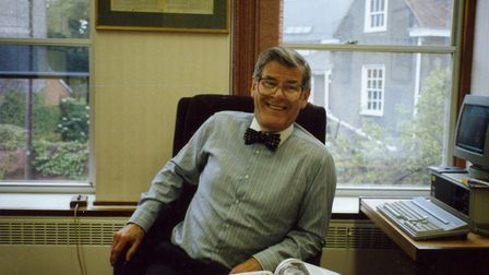 David Henhall in his office as Ipswich Star editor Picture: ARCHANT
