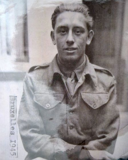 Harold 'Dick' Farrow, who joined the Army aged 18 in 1942 Picture: SUPPLIED BY FAMILY
