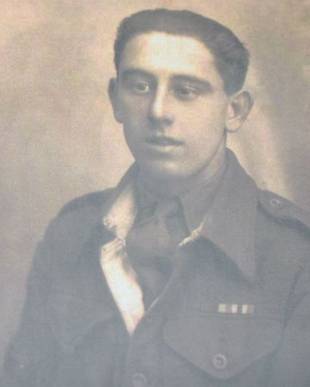 Harold enjoyed the comradeship of the Army so much he joined the TA Picture: SUPPLIED BY FAMILY