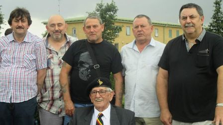 From left to right: Nigel, Mark, Stephen, Kevin and Rod Picture: SUPPLIED BY FAMILY
