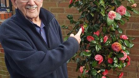 Harold 'Dick' Farrow, who has died aged 96 Picture: SUPPLIED BY FAMILY