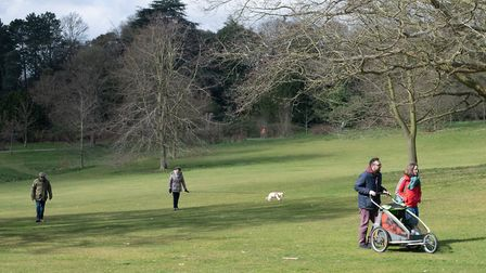 Park rangers have thanked people for observing the rules while exercising in Ipswich parks. Picture