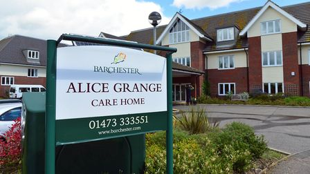 Alice Grange Care Home in Kesgrave, which has been placed in special measures Picture: ARCHANT