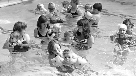 Did you attend the toddlers swimming lessons at St Matthews Baths, Ipswich, in September 1981? Pictu