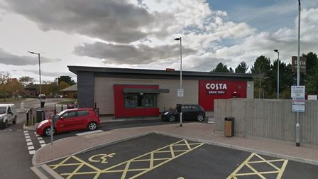 Costa Coffee at Ipswich's Euro Retail Park has closed after huge queues were seen during lockdown. P