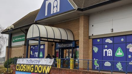 Mothercare went in to administration in November 2019 and closed down at the beginning of 2020. Pict