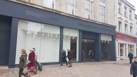 The former Burton/Dorothy Perkins store closed in early February 2020 and will make way for a new sh