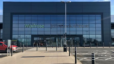 Waitrose and John Lewis in Ipswich Picture: CHARLOTTE BOND