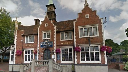 The Cricketers in Crown Street, Ipswich, is one of the several JD Wetherspoon pubs across Suffolk. P