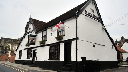 The Black Horse Pub in Ipswich is set to close its doors. Picture: ARCHANT