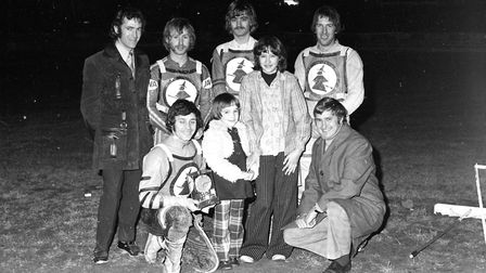 The Ipswich Witches at Foxhall stadium in 1974 Picture: DAVID KINDRED