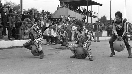 John Louis Testmonial at Foxhall Stadium in 1979 Picture: DAVID KINDRED