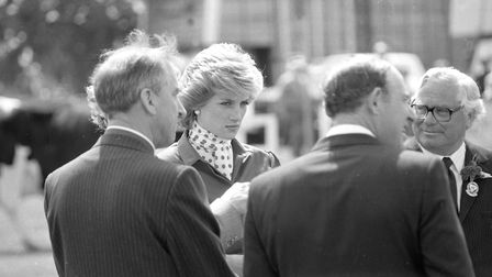 Princess Diana at the Suffolk Show in 1986 Picture: ARCHANT