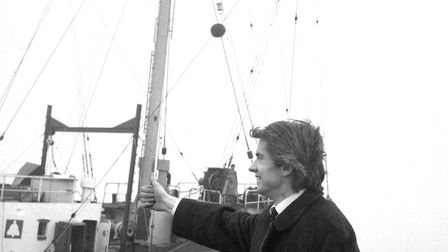 The founder of Radio Caroline in 1964, Ronan O'Rahilly Picture: DAVID KINDRED