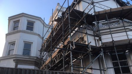 South Beach Mansion will be six two-bed flats once conversion and restoration work is finished Pictu