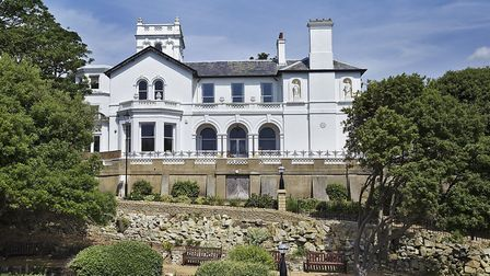 South Beach Mansion above the Pram Walk at Felixstowe Picture: CHRIS RAWLINGS