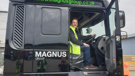 Olly Magnus, chief executive of Magnus Group Picture: MAGNUS GROUP