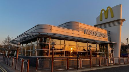McDonald's in Cardinal Park, Ipswich, is one of just 15 restaurants to reopen for deliveries across