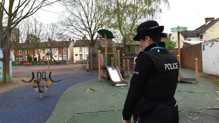 Maple Park, Ipswich, in the Westgate ward which has had problems with anti-social behaviour Picture: