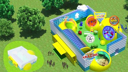 The CBeebies Rainbow Adventure was meant to be coming to Ipswich in June. Picture: CBEEBIES STEP INS