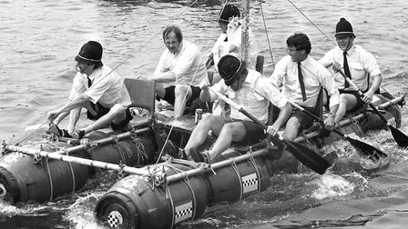 Ipswich Port Raft Race in June 1986 Picture: ARCHANT