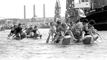 Do you recognise any faces from our raft race gallery? Picture: OWEN HINES/ARCHANT