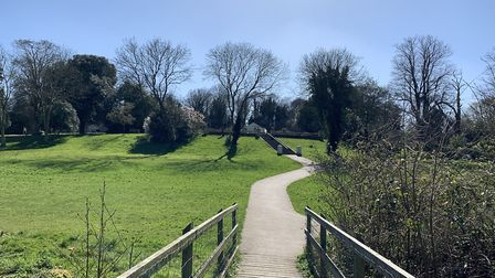 Holywells Park is accessible by a short walk for thousands in Ipswich - but the borough has the lowe