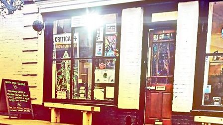 The Green Man Lounge in Ipswich is reopening as a vegetarian and vegan takeaway Picture: GREEN MAN L