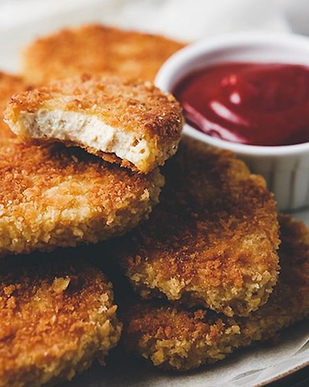 """Vegan """"chicken"""" nuggets are one of the items on the menu from Green Man Lounge Picture: GREEN MAN LO"""