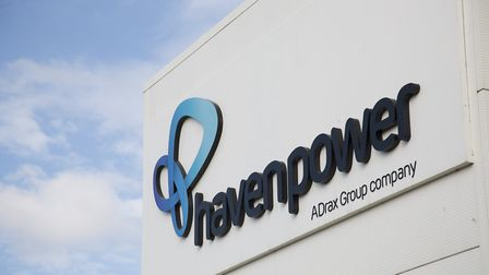 Business energy supplier Haven Power in Ipswich is owned by the Drax Group Picture: VISMEDIA/DANIEL