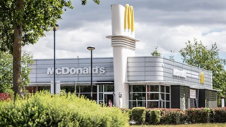 McDonald's, Cardinal Park, Ipswich, is now open for drive-through customers and deliveries. Picture