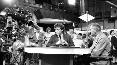 Antiques Roadshow visited Ipswich in 1985 Picture: ARCHANT
