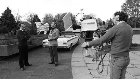 The Wolsey Theatre hosted the BBC as they filmed in 1982 Picture: ARCHANT