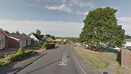 One of the attempted burglaries took place in Hadleigh Picture: GOOGLE MAPS