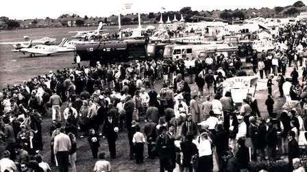 Ipswich Airport air fete in 1993 Picture: ARCHANT