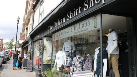 A number of independent stores in the popular St Peter's Street will reopen in June. Picture: CHARLO