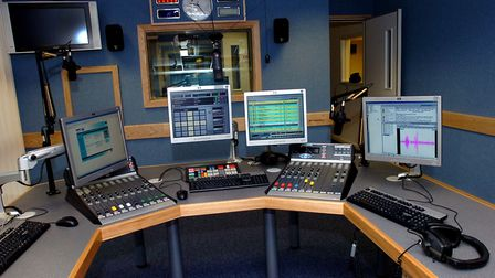 Town 102's studio when it opened back in 2006 Picture: WENDY TURNER