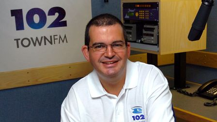 Town FM DJ Nick Morrell in 2006 Picture: WENDY TURNER