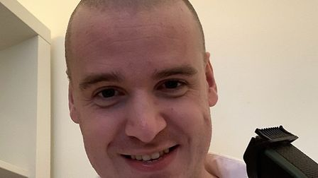 Mr Hunt is now sporting a buzz cut after letting his hair grow Picture: TOM HUNT