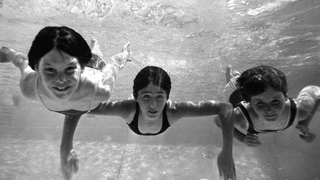 Underwater swimming at Broomhill in 1969. Picture: ARCHANT